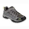The North Face Womens Storm III Waterproof Dark Gull Grey/ Chiffon Yellow (Close Out)