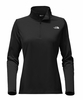 The North Face Womens Tech Glacier 1/4 Zip TNF Black (Close Out)