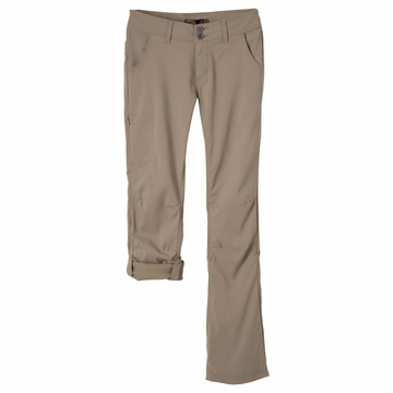 Prana Womens Halle Pant Regular Inseam Dark Khaki  (close out)