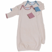 Baby Gown - Organic Cotton Velour