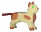 Holztiger Small Wooden Cat Standing