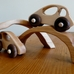 Little Sapling Toys Wooden Car, Bridge, and Tunnel Set