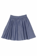 Organic Cotton Clare Skirt in Indigo from NUI Organics