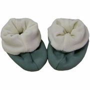 Organic Cotton Velour Slippers
