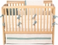 Organic Crib Set in Sage Green - Four Pieces
