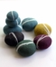 Organic Felted Wool Pebble Ball - NUI Organics