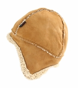 Organic Lambskin Cossack Hat in Natural - Kina Collection by NUI Organics