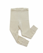 Organic Wool & Silk Long Johns