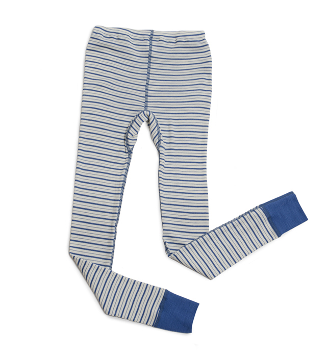 Organic Wool Silk Long Johns Underwear for Kids and Toddlers