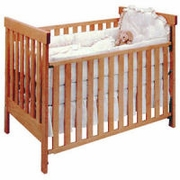 Pacific Rim Natural Non-Toxic Crib - Arts and Crafts