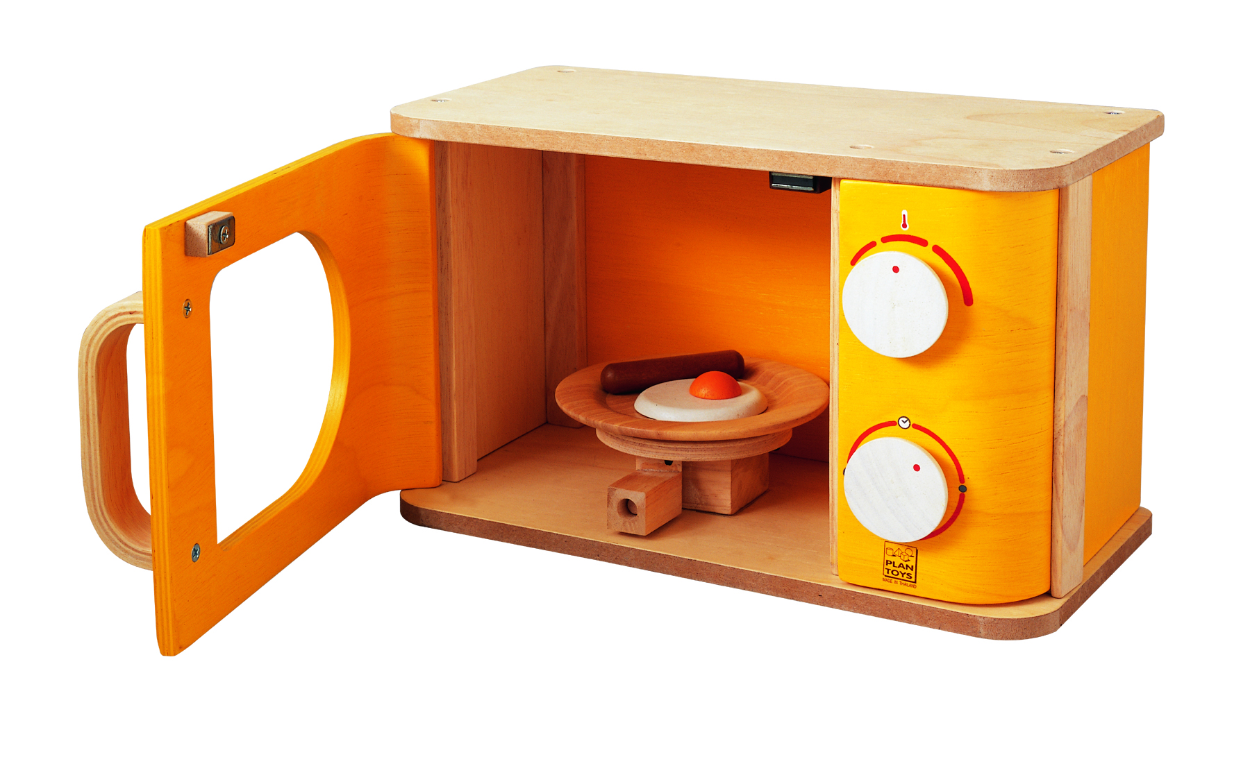 Plan Toys Microwave, Organic, Non-Toxic, Play Kitchen ...