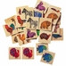 Selecta Zoo Wooden Memory Game
