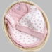 Under the Nile Newborn Organic Cotton Gift Basket - Pink or Blue