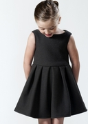 Whitten Grey Organic Wool Party Dress