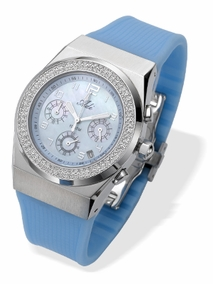 2964- blue - Cronogrf watch