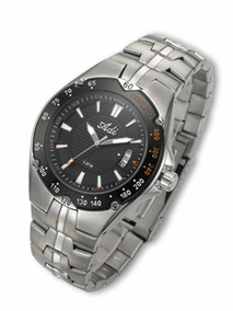 3144 - black Elegant Men's watch