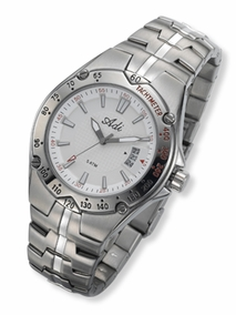 3144 - silver Elegant Men's watch