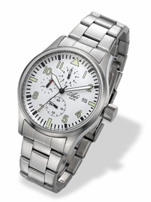 3332-6 - white luxury watch