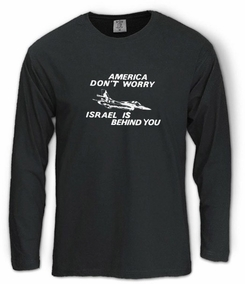 America Don't Worry Long Sleeve T-Shirt