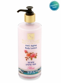 Anti Aging Body Lotion Rose