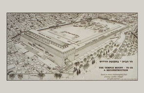 Bible Poster  - The Second Temple - Eastern View