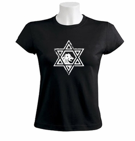 Casual Star of David Women T-shirt