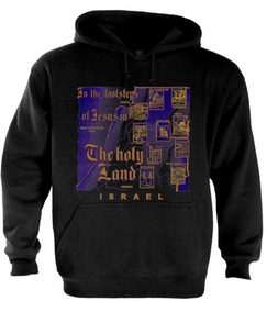 Christian sites in the holyland Hoodie
