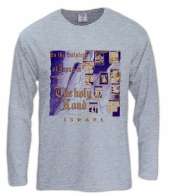 Christian sites in the holyland Long Sleeve T-Shirt