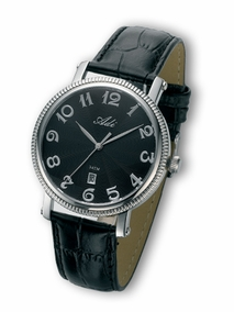Classic elegant gent's stainless steel watch - 265