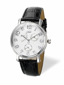 Classic elegant stainless steel watch - 2659