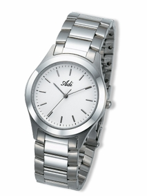 Classic stainless steel watch - 424 - white
