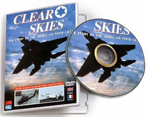 Clear Skies: The Story of the Israeli Air Force DVD