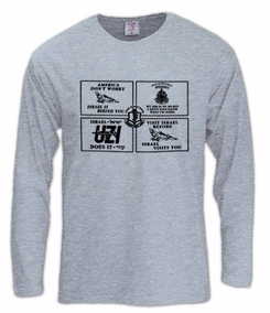 Combined IDF Design Long Sleeve T-Shirt