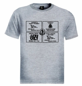 Combined IDF Design T-Shirt