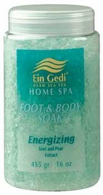 Dead Sea Energizing Foot and Body Soak