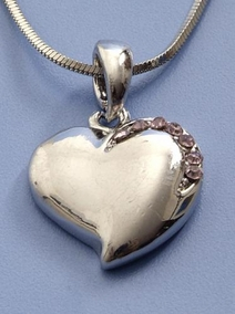 Decorative Heart Necklace