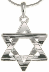 Decorative Star of David Pendant