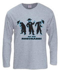 Do the RoboRabbi Long Sleeve T-Shirt