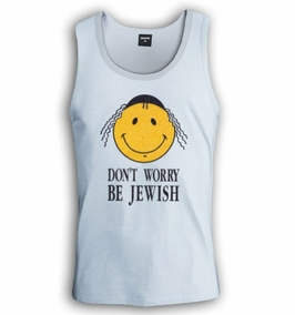 Don't Worry Be Jewish Singlet