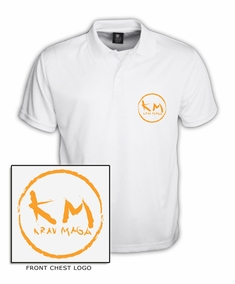 Dry-Fit Krav Maga Retro Polo Shirt
