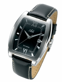 Elegant gent's watch - 2275 - black