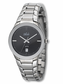 Elegant gent's watch - 2848 - black