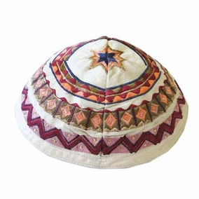 Embroidered Kippah CAT# YME - 2