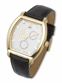 Exclusive designer unisex watch - 2873 - gold