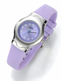 Fashionable colored watch - 219- purple