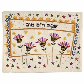 Flowers Challah Cover CAT# CHE-31