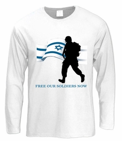 Free Our Soldiers Long Sleeve T-Shirt