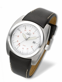 Gent's stainless steel sport-elegant watch - 2637