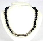 Great Sterling Silver Sodalite Necklace