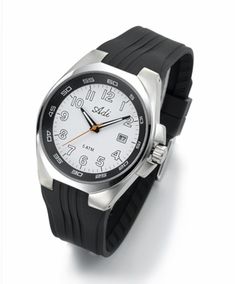 GREY stainless steel men's watch - 3067